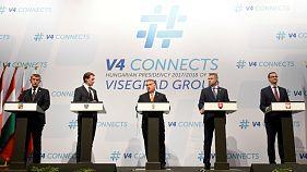 Egyetértenek a migráció kezeléséről a V4-ek Ausztriával