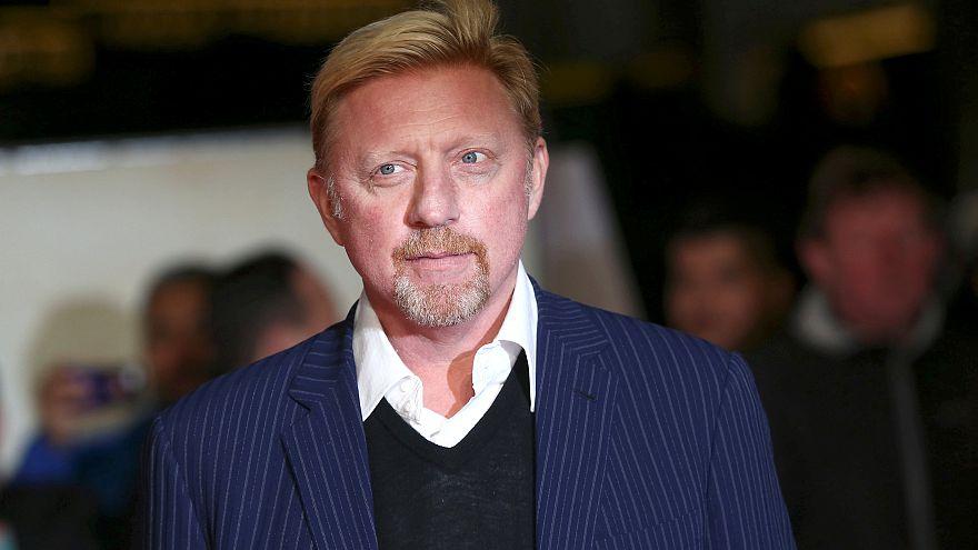 Troféus de Boris Becker leiloados para pagar dívidas