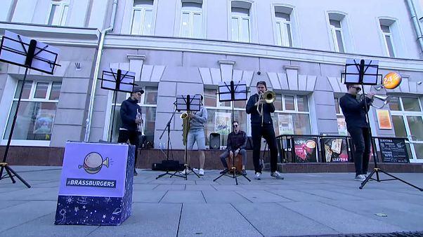 گوره موسیقی BrassBurgers در  شهر نیژنی روسیه
