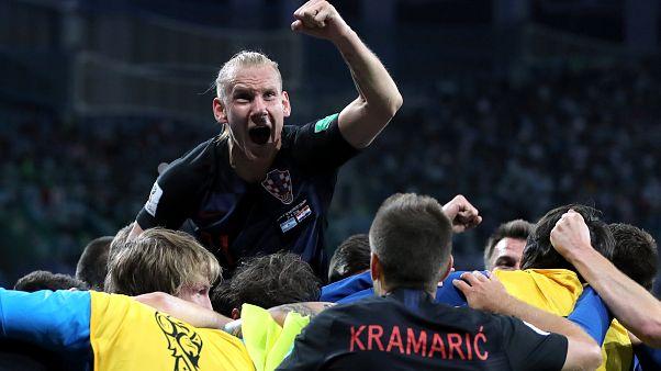 Hırvatistan'dan Arjantin karşısında 3 gollü tango
