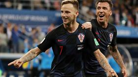 Horvátország kiütötte Argentínát