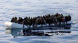 یک قایق پناهجویان
