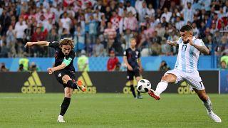 La Croatie écœure l'Argentine