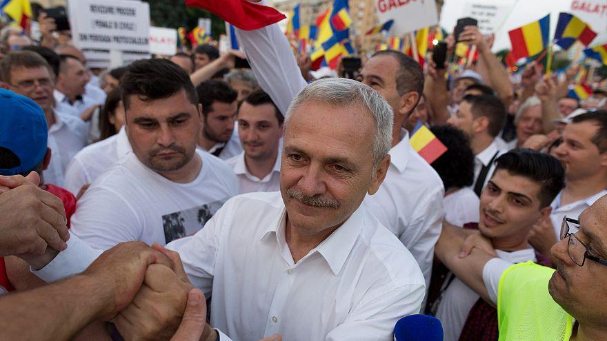 Roumanie : prison ferme pour l'homme fort du pays