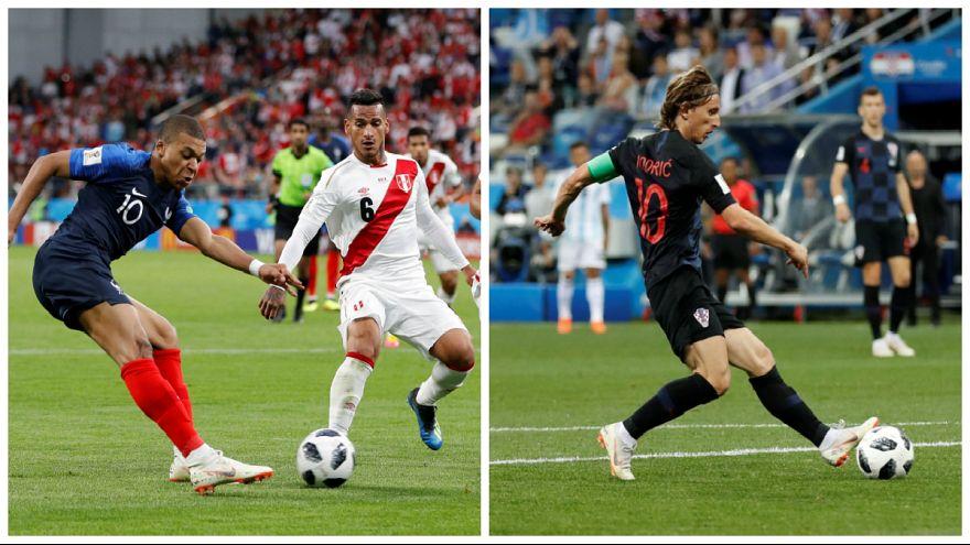 صعود شش امتیازی فرانسه و کرواسی