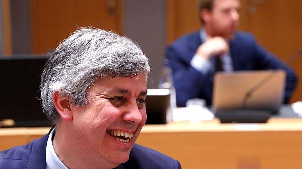 El presidente del Eurogrupo, Mário Centeno