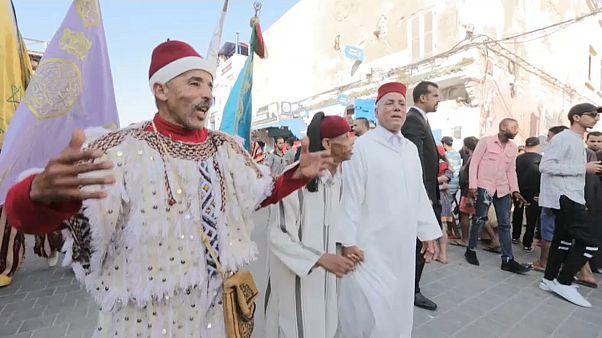 Начался фестиваль музыки гнауа