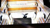اعتقال رجل أدعى أنه يحمل قنبلة في محطة للقطارت بلندن