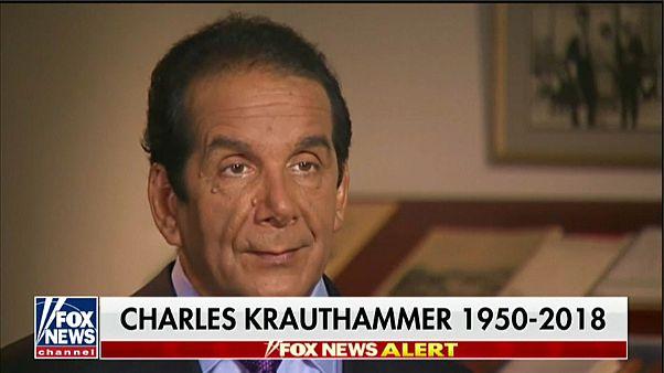 Addio al premio Pulitzer Krauthammer, ideologo del presidente Reagan