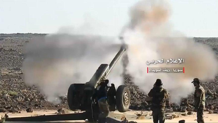 الأسد يكثف هجومه على المعارضة في درعا والمدنيون يفرون
