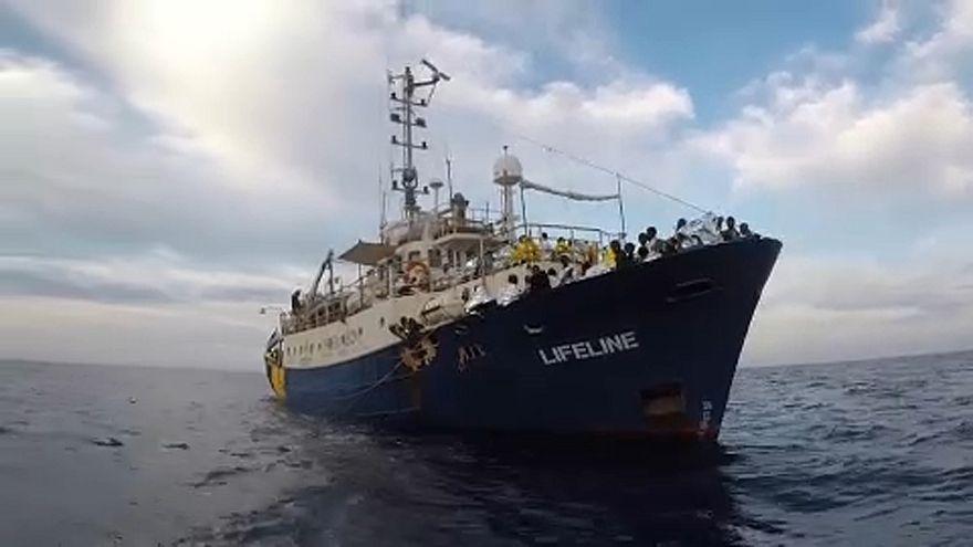 Kikötésre vár a Mission Lifeline