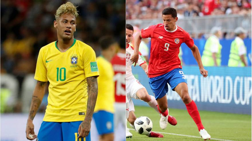 """""""Sambacılar"""" son dakikada mutlu sona ulaştı: Brezilya: 2 - Kosta Rika: 0"""