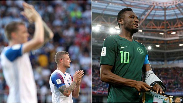 Ölüm Grubu'nda kritik maçın galibi Nijerya oldu