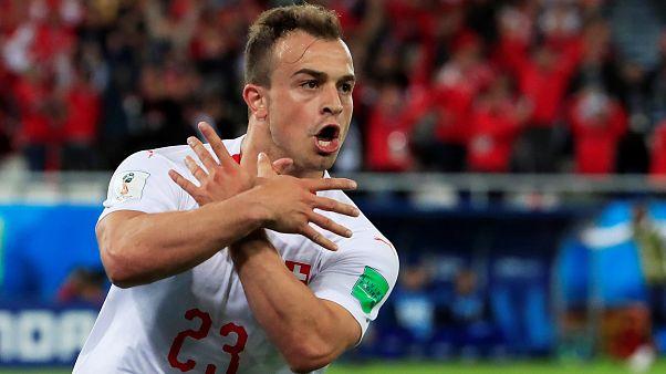 İsviçre Kosova asıllı oyuncularıyla Sırbistan'ı yıktı : 2- 1