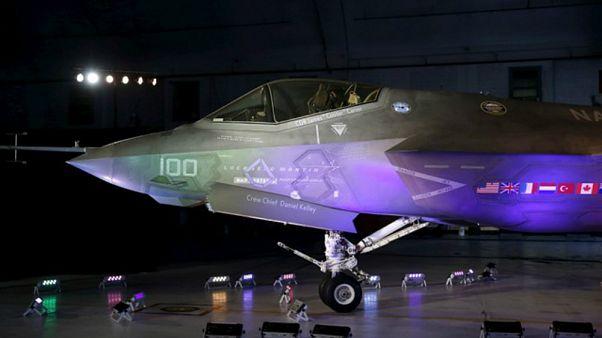 مشروع قانون أمريكي يمنع تركيا من استلام مقاتلات إف-35