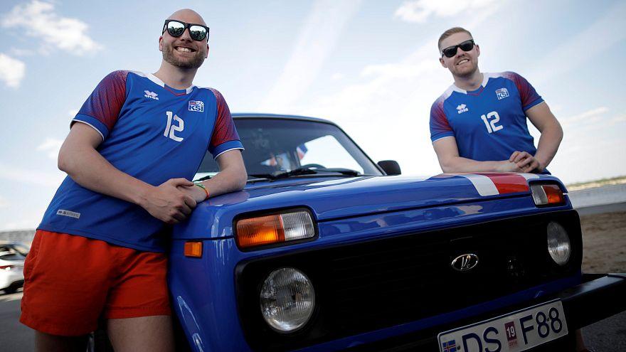 Μουντιάλ: Από την Ισλανδία στη Ρωσία... με ένα Lada!