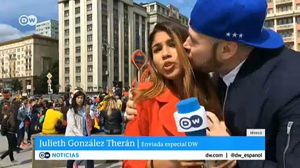 Μουντιάλ 2018: Συγγνώμη άνδρα για on air σεξουαλική παρενόχληση