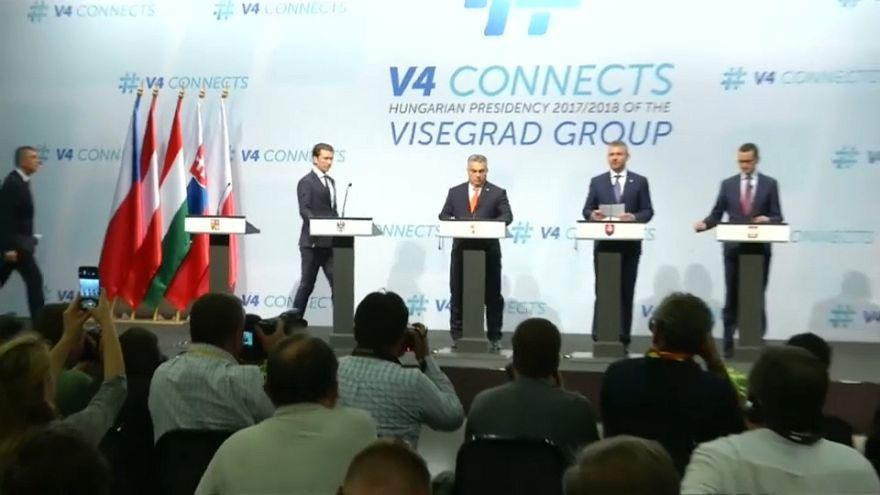Asse Austria-Visegrad, sicurezza e lotta all'immigrazione illegale