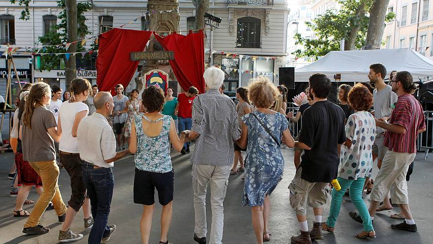 Millionen von Franzosen feiern Fête de la Musique