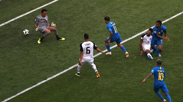 Brazil győzelem Costa Rica ellen