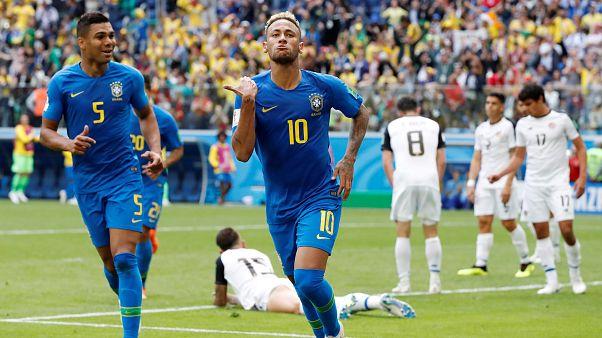 Le Brésil enterre le Costa Rica (2-0)