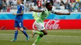 Fußball-WM: Nigeria schlägt Island mit 2:0