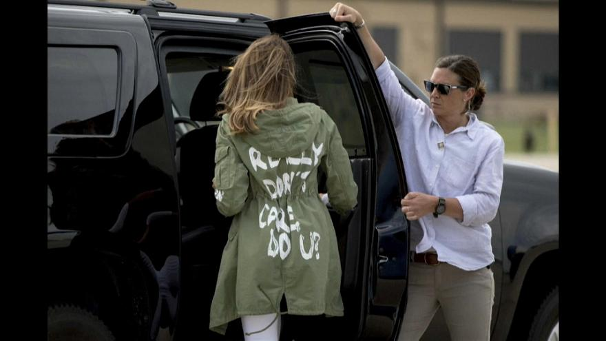 First Lady visits shelter for  child immigrants on US-Mexico border