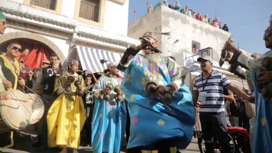 Música para caer en trance en el Festival de Gnaua