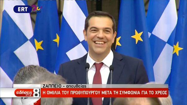 Tsipras muss Krawatte tragen
