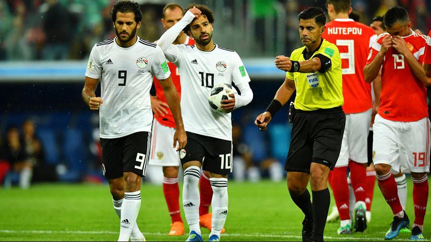 مصر در پی شکست از تیم ملی روسیه از داور بازی شکایت میکند
