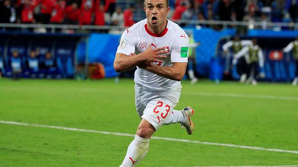 Schweiz gewinnt 2 zu 1 gegen Serbien - entscheidendes Tor von Shaqiri