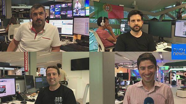 دیدگاه خبرنگاران پرتغالی یورونیوز در باره مسابقه با ایران