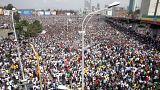 انفجار در گردهمایی نخست وزیر اتیوپی ۸۳ زخمی بر جای گذاشت