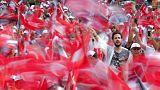 من إحدى الحملات الانتخابية التركية
