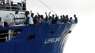 Le Lifeline toujours en attente d'un port
