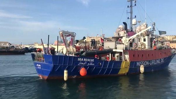 Deutsches Rettungsschiff auf Irrfahrt im Mittelmeer