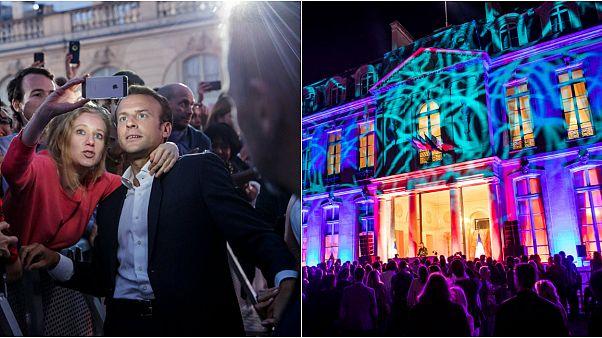 Elysee Sarayı'nda müzik, dans, eğlence