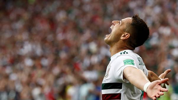 World Cup: Mexico defeat South Korea 2-1 in a tight match.