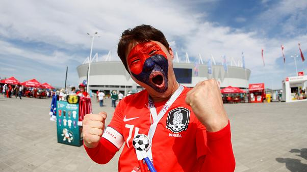 World Cup Live: South Korea takes on Mexico