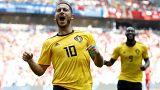 Russia 2018: dilaga il Belgio, a suon di Lukaku e Hazard