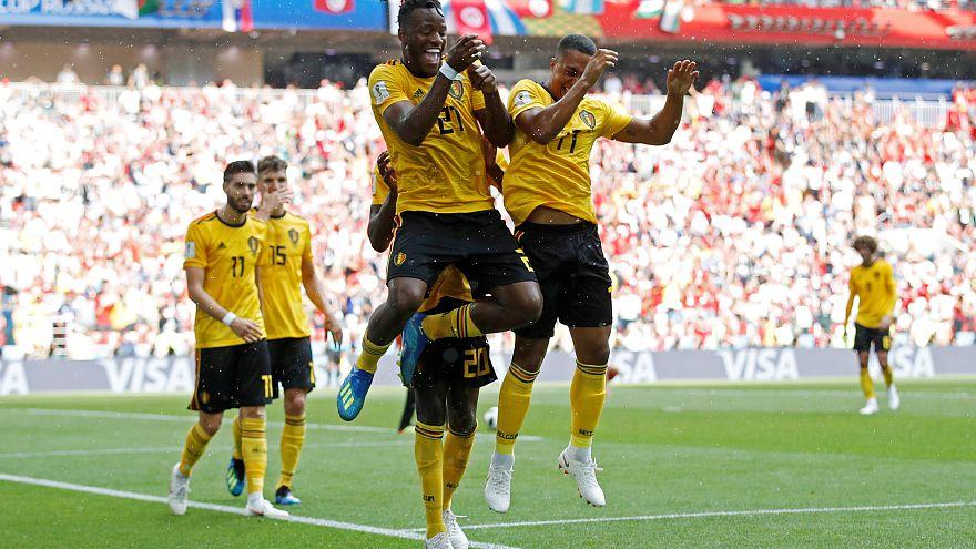 Dünya Kupası'nın gizli favorisi Belçika Tunus'u 5 golle geçti