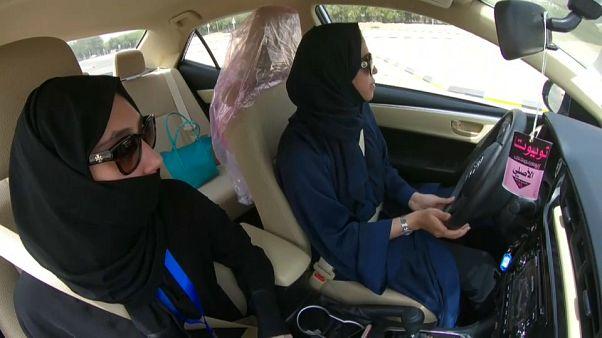 Desde este domingo las mujeres saudíes ya pueden conducir