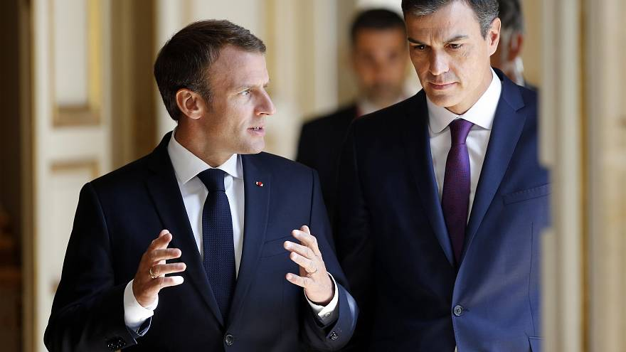 Sánchez y Macron ante la cumbre europea sobre migración