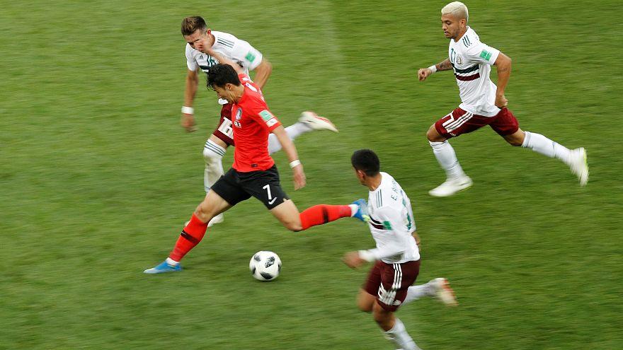 مونديال روسيا: المكسيك تواصل تقدمها القوي وتفوز على كوريا الجنوبية بهدفين لهدف