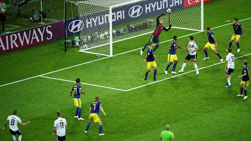 ألمانيا تفوز على السويد بهدفين لهدف في الثواني الاخيرة وتفلت من وداع المونديال مبكراً