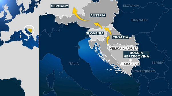 Bosnia-Erzegovina: al confine con la Croazia la rotta dimenticata dei migranti