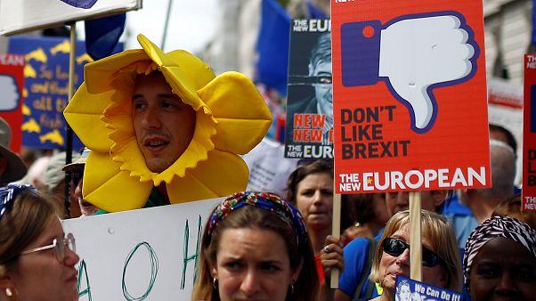 Marcha contra el brexit en Londres