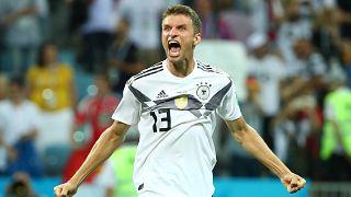 Alemania gana a Suecia en el último minuto