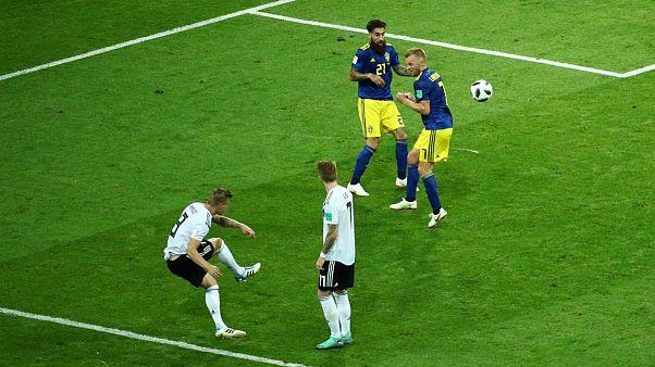 پیروزی آلمان مقابل سوئد؛ مدافع عنوان قهرمانی گام دوم را محکم برداشت