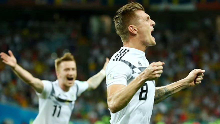 Az utolsó percben nyert Németország